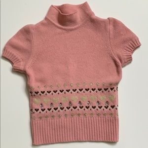 GUC Italian Simonetta Girls Sweater Size 6